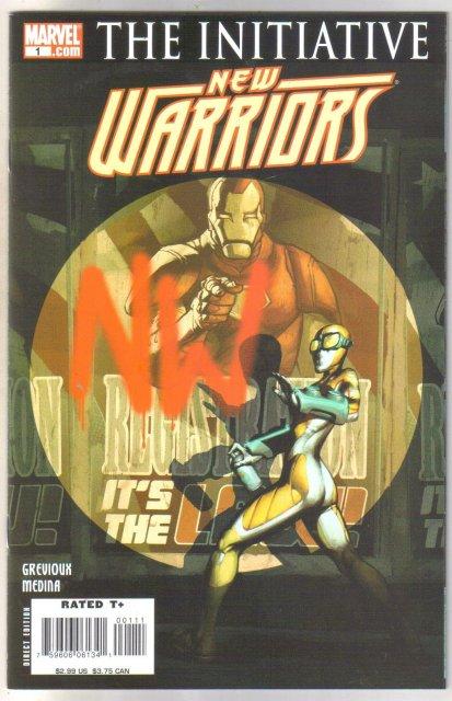 New Warriors #1 comic book  mint 9.8