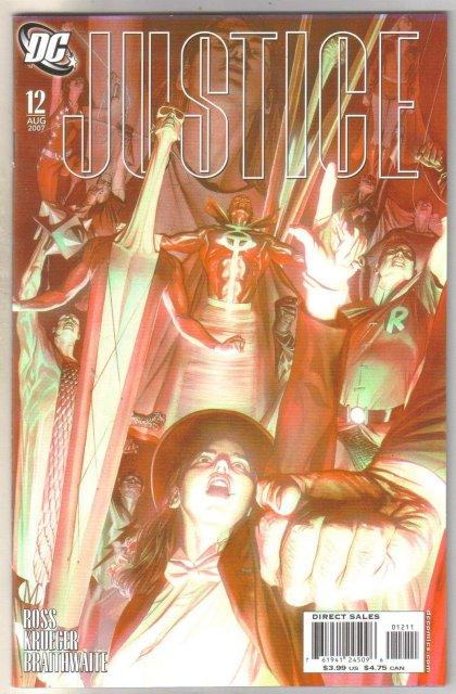 Justice #12 comic book  mint 9.8