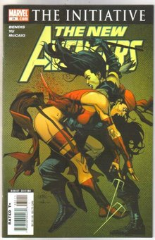 New Avengers #31 comic book  mint 9.8
