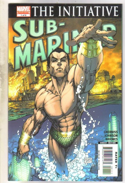 Sub-Mariner #1 comic book  mint 9.8