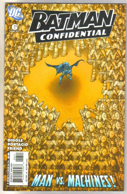 Batman Confidential #6 comic book  mint 9.8