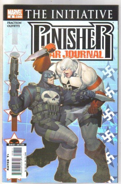 Punisher War Journal #8 comic book  mint 9.8