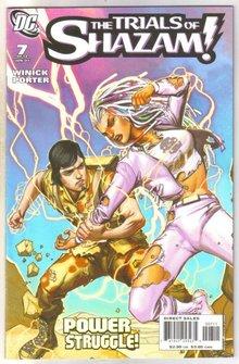 Trials of Shazam #7 comic book  mint 9.8