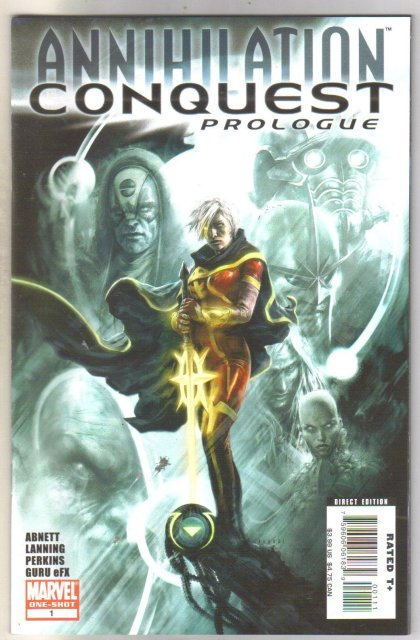 Annihilation Conquest Prologue comic book  mint 9.8