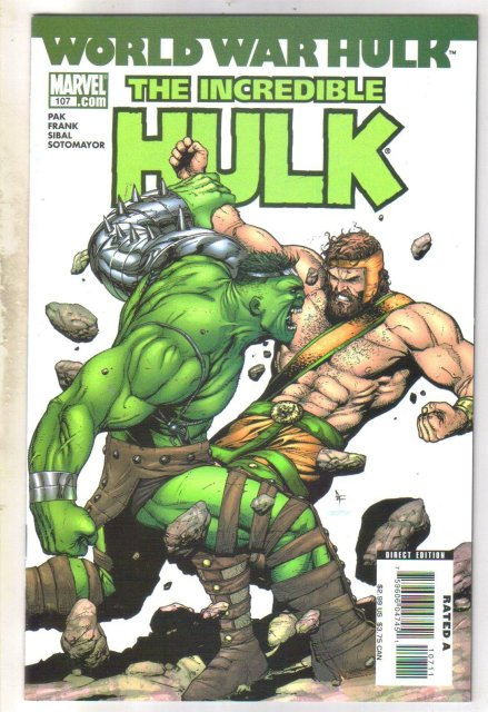 Incredible Hulk #107 comic book  mint 9.8