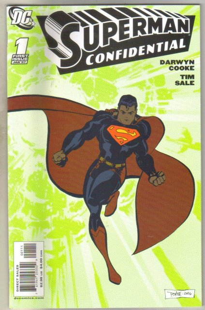 Superman Confidential #1 comic book  mint 9.8
