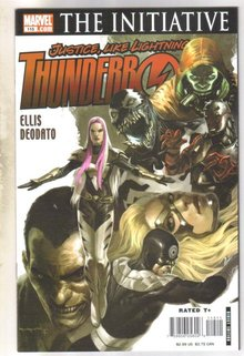 Thunderbolts #115 comic book  mint 9.8