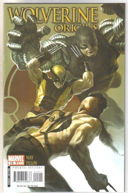Wolverine Origins #15 comic book  mint 9.8