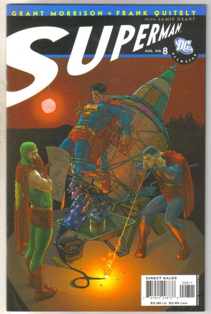 Superman #8 comic book  mint 9.8