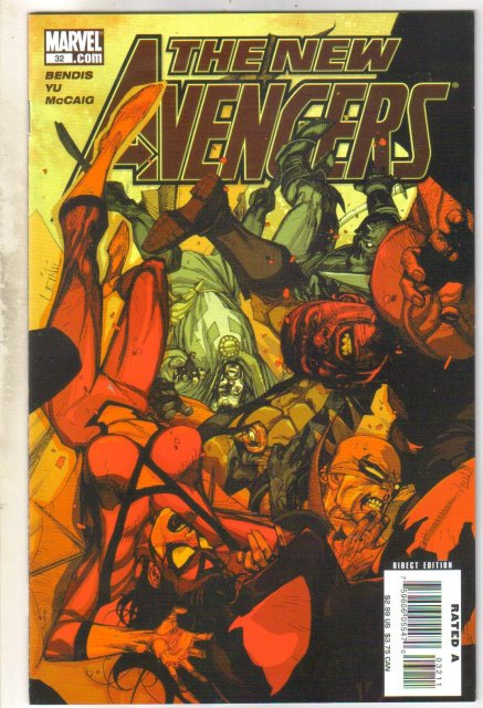 New Avengers #32 comic book  mint 9.8