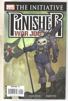 Punisher War Journal #9 comic book  mint 9.8