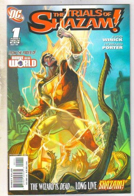 Trials of Shazam #1 comic book mint 9.8