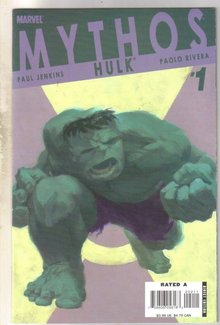 Mythos Hulk #1 comic book mint 9.8