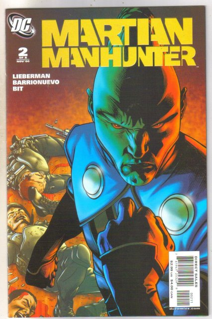 Martian Manhunter #2 comic book mint 9.8