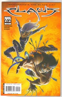 Wolverine & the Black Cat Claws #2 comic book mint 9.8