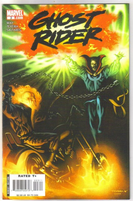 Ghost Rider #3 comic book mint 9.8