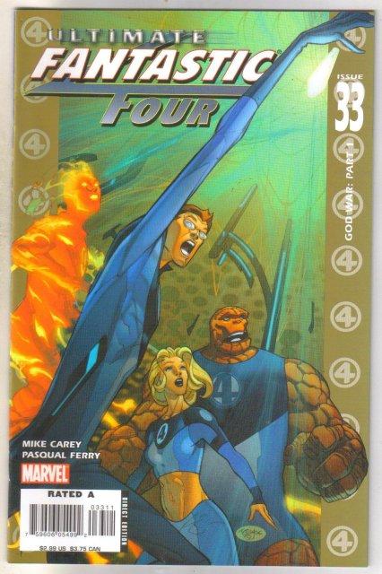 Ultimate Fantastic Four #33 comic book mint 9.8