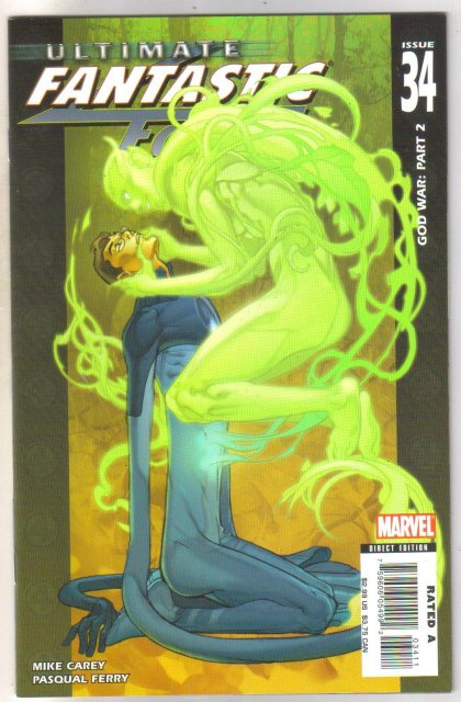 Ultimate Fantastic Four #34 comic book mint 9.8