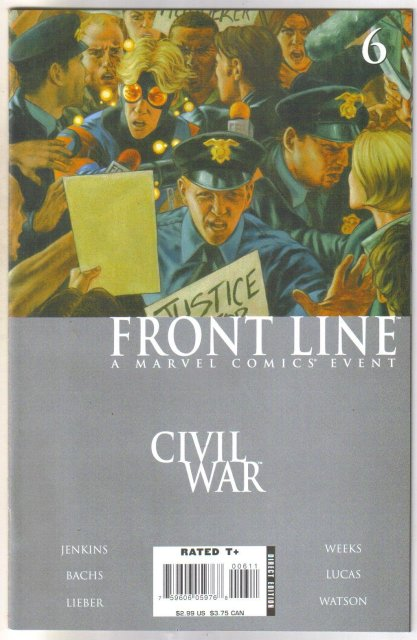 Front Line #6 comic book mint 9.8