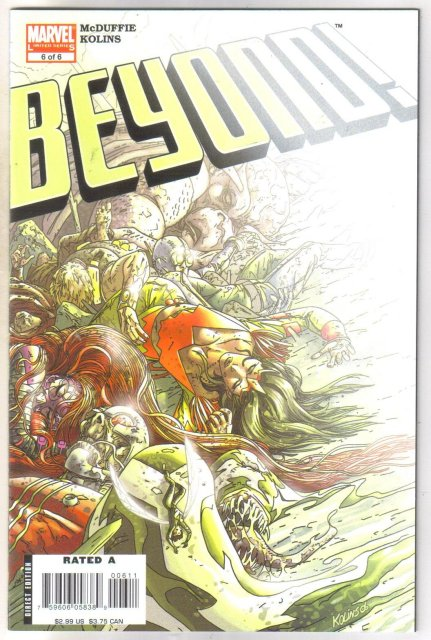 Beyond #6 comic book mint 9.8