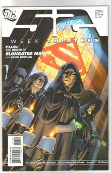 52 week Thirteen comic book mint 9.8