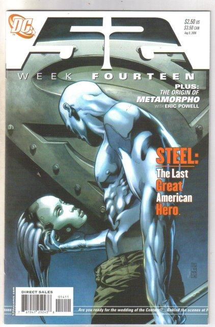 52 Week Fourteen comic book mint 9.8