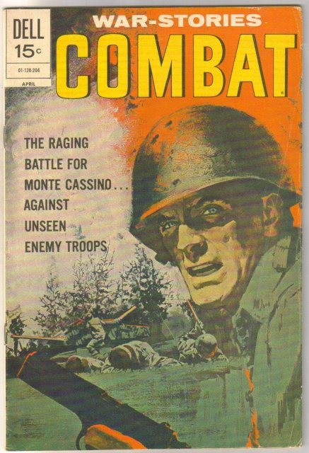 Combat #35 comic book very good 4.0