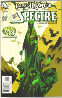Tales of the Unexpected Featuring The Spectre #1 comic book mint 9.8