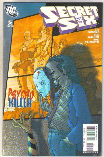 Secret Six #5 comic book mint 9.8