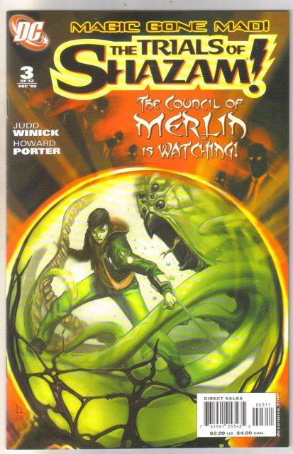 Trials of Shazam #3 comic book mint 9.8
