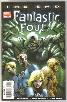 The End Fantastic Four #1 comic book mint 9.8