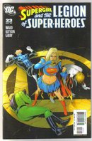 Supergirl and the Legion of Superheroes #23 comic book mint 9.8