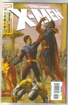 Uncanny X-men #480 comic book mint 9.8
