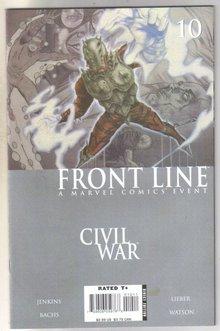 Front Line Civil War #10 comic book mint 9.8