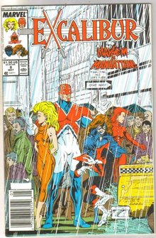 Excalibur #8 comic book near mint 9.4