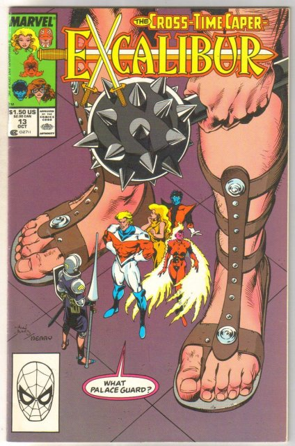 Excalibur #13 comic book very fine 8.0