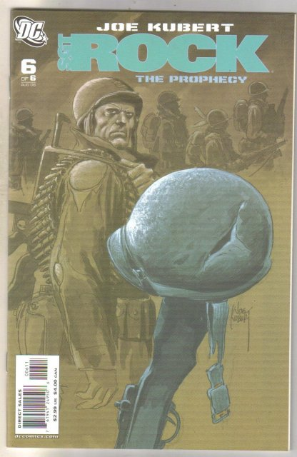 Sgt. Rock The Prophecy #6 comic book mint 9.8