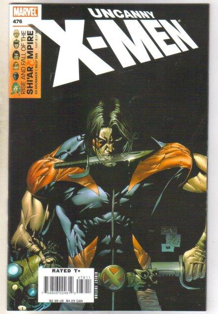 Uncanny X-men 476 comic book mint 9.8