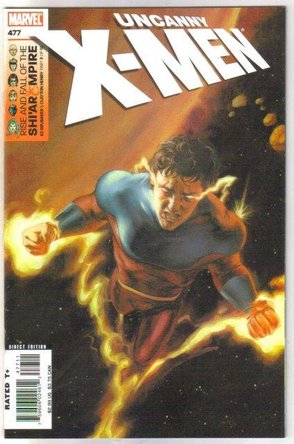 Uncanny X-men #477 comic book mint 9.8