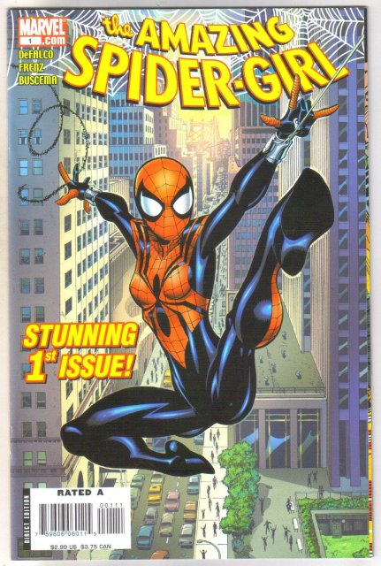 Amazing Spider-girl #1 comic book mint 9.8