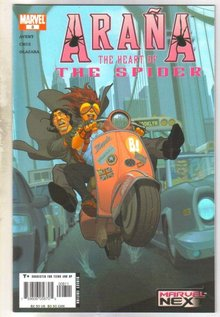 Arana #8 comic book mint 9.8