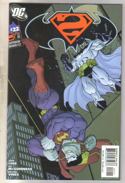 Superman/Batman #22 comic book mint 9.8