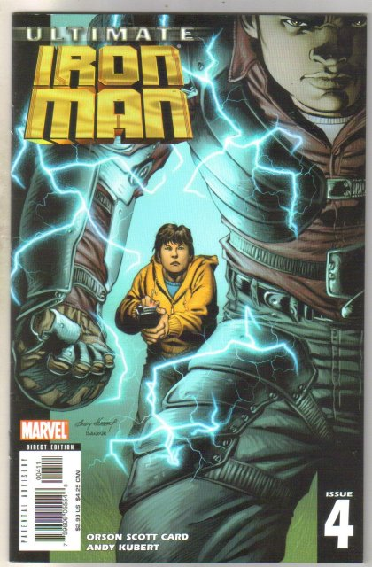 Ultimate Iron Man #4 comic book mint 9.8