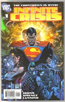 Infinite Crisis #1 (Superman cover) comic book mint 9.8