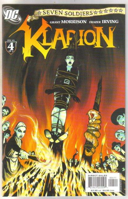 Seven Soldiers Klafion #4 comic book mint 9.8