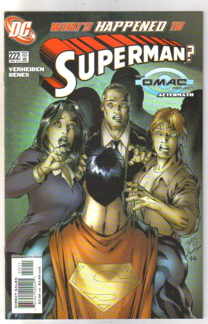 Superman #222 comic book mint 9.8