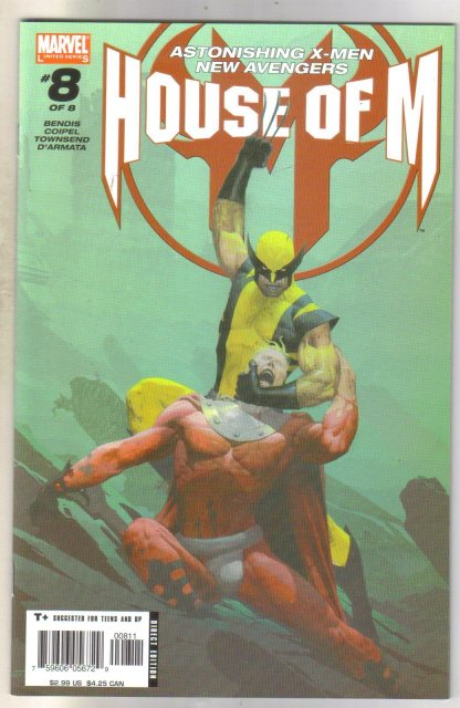 House of M #8 comic book mint 9.8