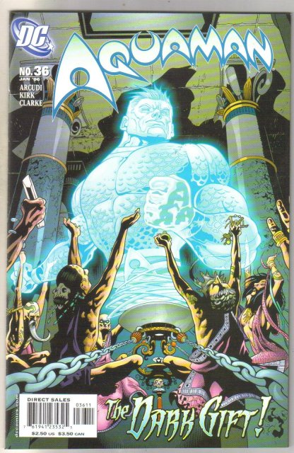 Aquaman #36 comic book mint 9.8