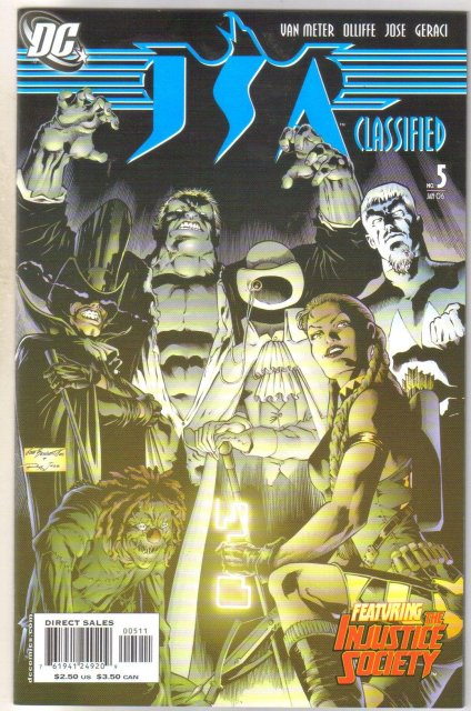 JSA Classified #5 comic book mint 9.8