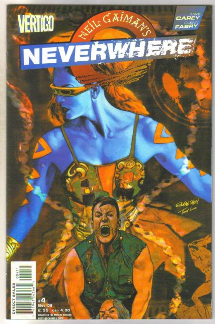 Neil Gaiman's Neverwhere #4 Vertigo  comic book mint 9.8